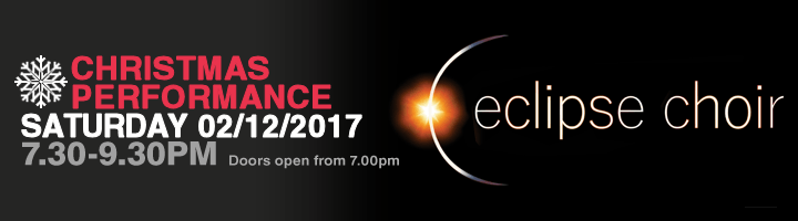 Eclipse Choir Christmas Concert 2017