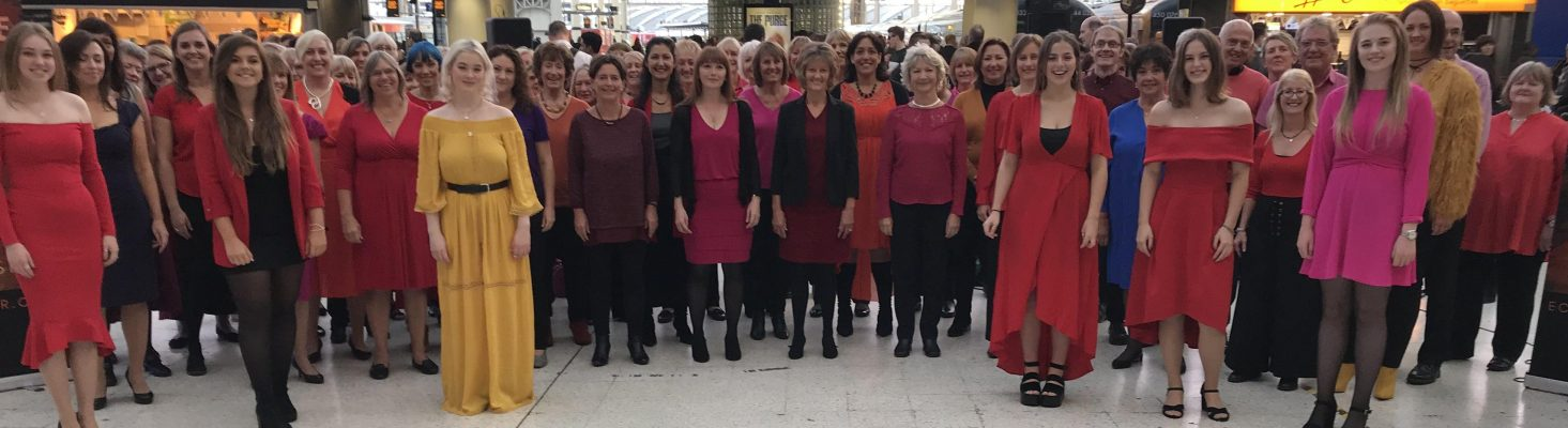 Eclipse Choir and Seventh Avenue Singers at London Waterloo